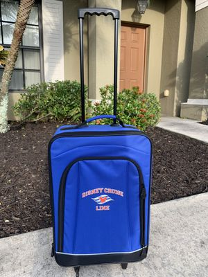Like New Official Disney Cruise Line Luggage for Sale in Davenport, FL