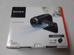 Sale Videocámara digital HD SONY HDR-PJ540 almost new, little use for Sale in Miramar, FL