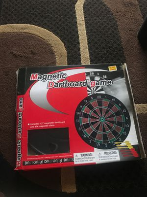 Magnetic dartboard game for Sale in Everett, WA