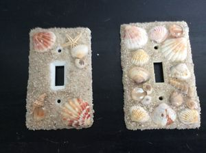 Sea breeze light covers. Great beach look. Can make electrical covers also for Sale in Pembroke Pines, FL
