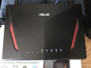 Asus AC86U wireless router for Sale in Lexington, MA