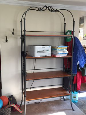 Wrought iron bakers rack / shelves for Sale in La Grange, IL