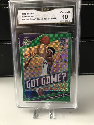 NBA STARS 🏀🔥 GRADED MINT MOSAIC BASKETBALL CARDS $15 each for Sale in Margate, FL