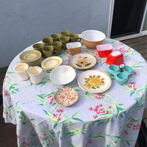 Vintage 70's And 60's Dinner ware for Sale in San Diego, CA
