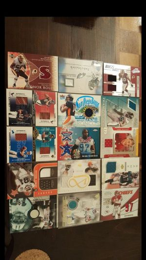50 NFL Football Game-Used Jersey Cards for Sale in Windsor Hills, CA
