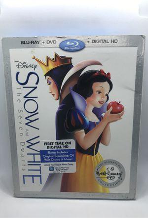 Snow White & The Seven Dwarfs Blu-ray for Sale in Corona, CA