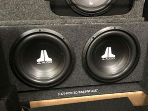 Jl audio dual slot ported bass wedge on sale today message us for the best deals in la for Sale in Downey, CA