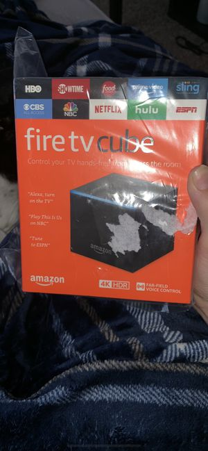 Fire TV Cube for Sale in Peoria, AZ
