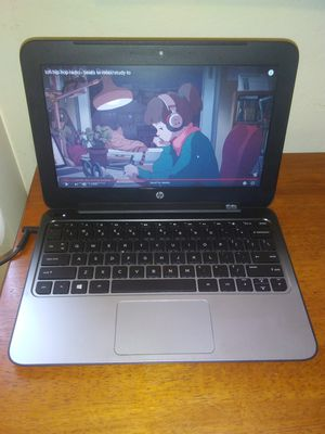 Hp stream 11 pro notebook with charger for Sale in Huntington Park, CA