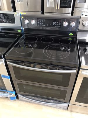 Brand new black stainless steel electric stove for Sale in Houston, TX