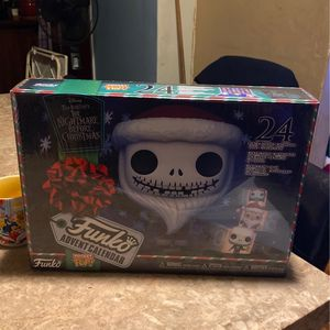 The Nightmare Before Christmas Funko Pop Calendar for Sale in National City, CA