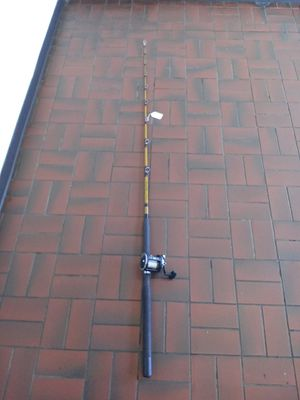 Ugly stik tiger fishing rod with penn reel for Sale in Milwaukie, OR