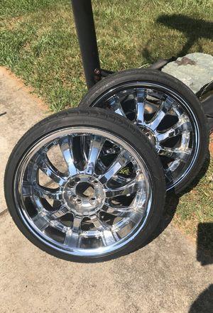 18 inch rims for Sale in Greensboro, NC