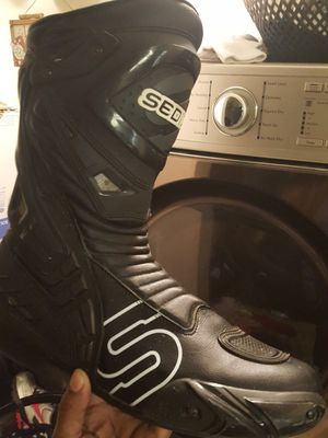Motorcycle boots size 12 for Sale in Philadelphia, PA
