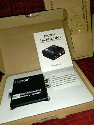 Digital to analog audio converter for Sale in Elyria, OH