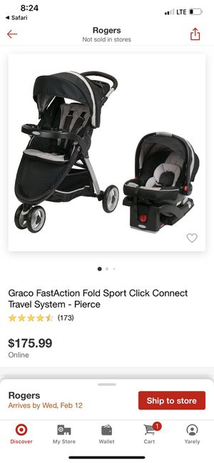 Graco FastAction Travel System for Sale in Springdale, AR