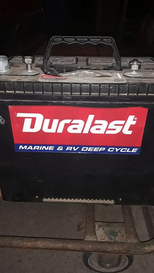 Duralast marine & RV deep cycle battery for Sale in Phoenix, AZ