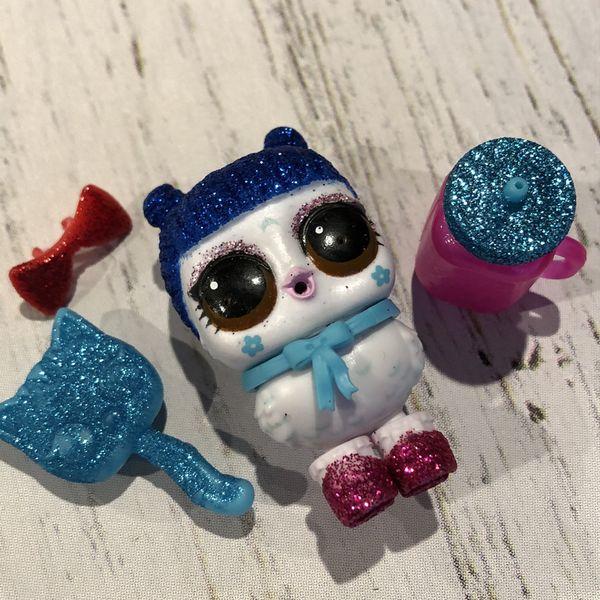 LOL Surprise Doll Fluffy Pets HOOTIE CUTIE Disco Rare