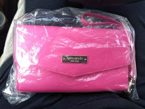 Hot Pink Kate Spade Wallet Authentic for Sale in Santa Ana, CA