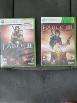 Fable 1 And 2 Bundle Xbox 360 for Sale in Escondido,  CA