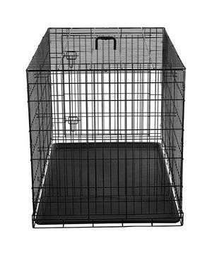 Single Door Folding Metal Dog Crate 48in for Sale in DORCHESTR CTR, MA