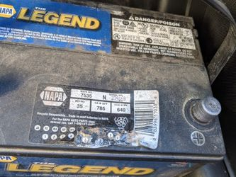 Group 35 Car Battery for Sale in Fort Worth,  TX