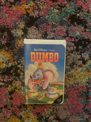 BLACK DIAMOND VHS - Walt Disney's Dumbo for Sale in Cleveland, OH