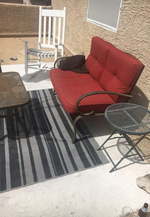 Outdoor lounge furniture. Sofa, table, end table for Sale in Phoenix, AZ