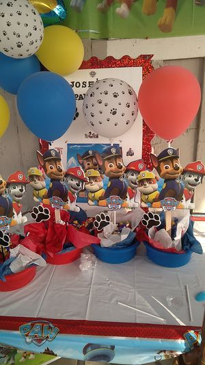 Paw patrol party stuff for Sale in Fowler, CA