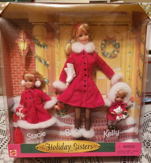 Holiday Sisters Barbie Gift Set for Sale in Maple Grove, MN
