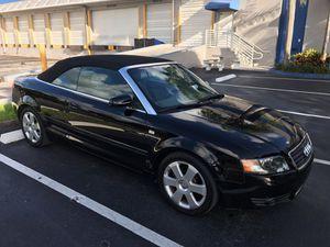 Audi 4 convertible 2004 sale!! for Sale in Miami, FL
