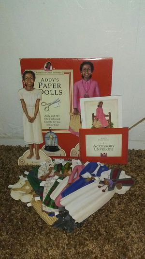 American girl Addy paper dolls for Sale in Oklahoma City, OK