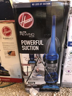 Brand new Hoover elite rewind plus vacuum for Sale in Dallas, TX