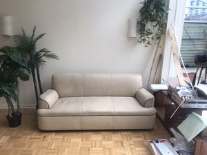 2 leather couches for Sale in Brooklyn, NY