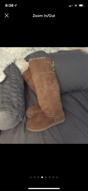Ugg over the knee boots size 7. for Sale in Hilliard, OH