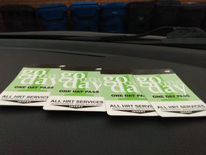Three all day one day bus passes *Pending pickup for Sale in Norfolk, VA
