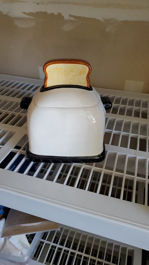 Toaster collectible cookie jar for Sale in Fresno, CA