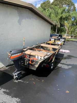 Jon boat for Sale in Riverview, FL