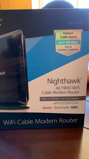 Cable modem router for Sale in Lathrop, CA