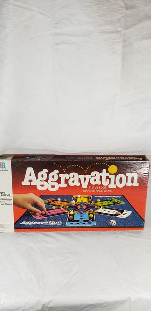 Aggravation Board Game for Sale in San Diego, CA