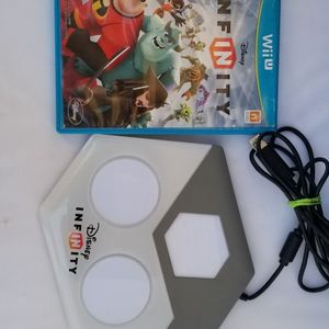 Disney INFINITY (Nintendo Wii U) Game and Base Portal for Sale in El Paso, TX