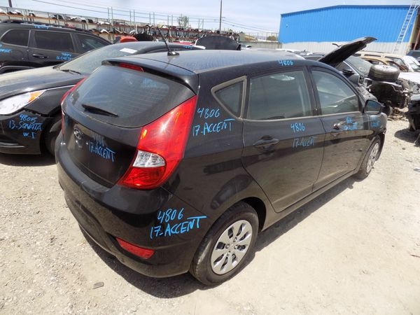 2017 Hyundai Accent 1.6L (PARTING OUT)