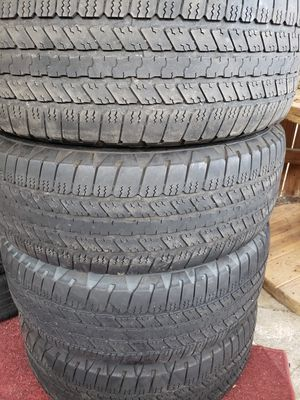 Used set of tires for Sale in Grand Prairie, TX