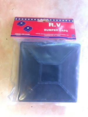 RV PARTS- R.V. Bumper caps, hitch lock and wheel stops for Sale in El Paso, TX