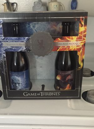 Game of thrones collectors bottles...NEW for Sale in La Mesa, CA