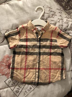 12M Burberry Shirt for Sale in Alexandria, VA