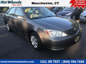 2003 Toyota Camry for Sale in Manchester, CT