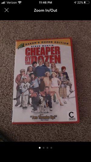 Cheaper By the Dozen dvd for Sale in Normal, IL