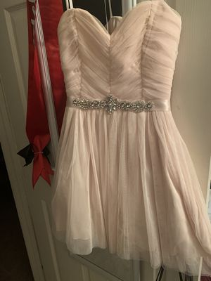 Prom or winter formal dresses . Pink , Silver, Gold for Sale in Murrieta, CA
