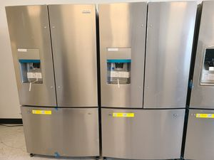 Frigidaire stainless steel French door refrigerator new with 6 month's warranty for Sale in Mount Rainier, MD